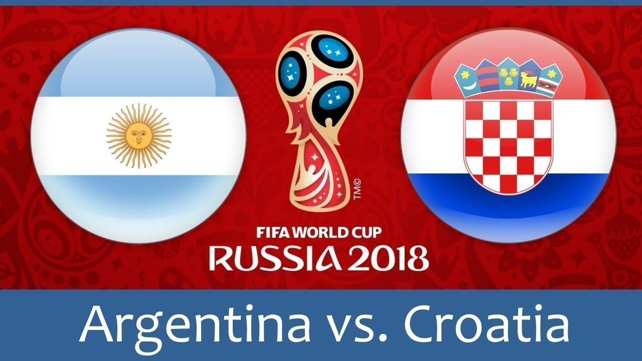 World Cup 2018, Argentina vs Croatia