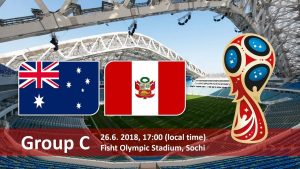 World Cup 2018, Australia vs Peru