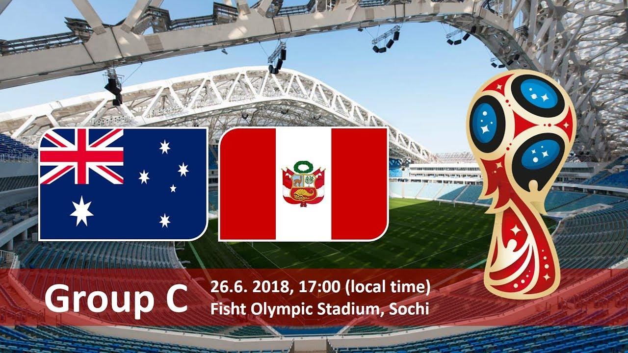World Cup 2018, Australia vs Peru