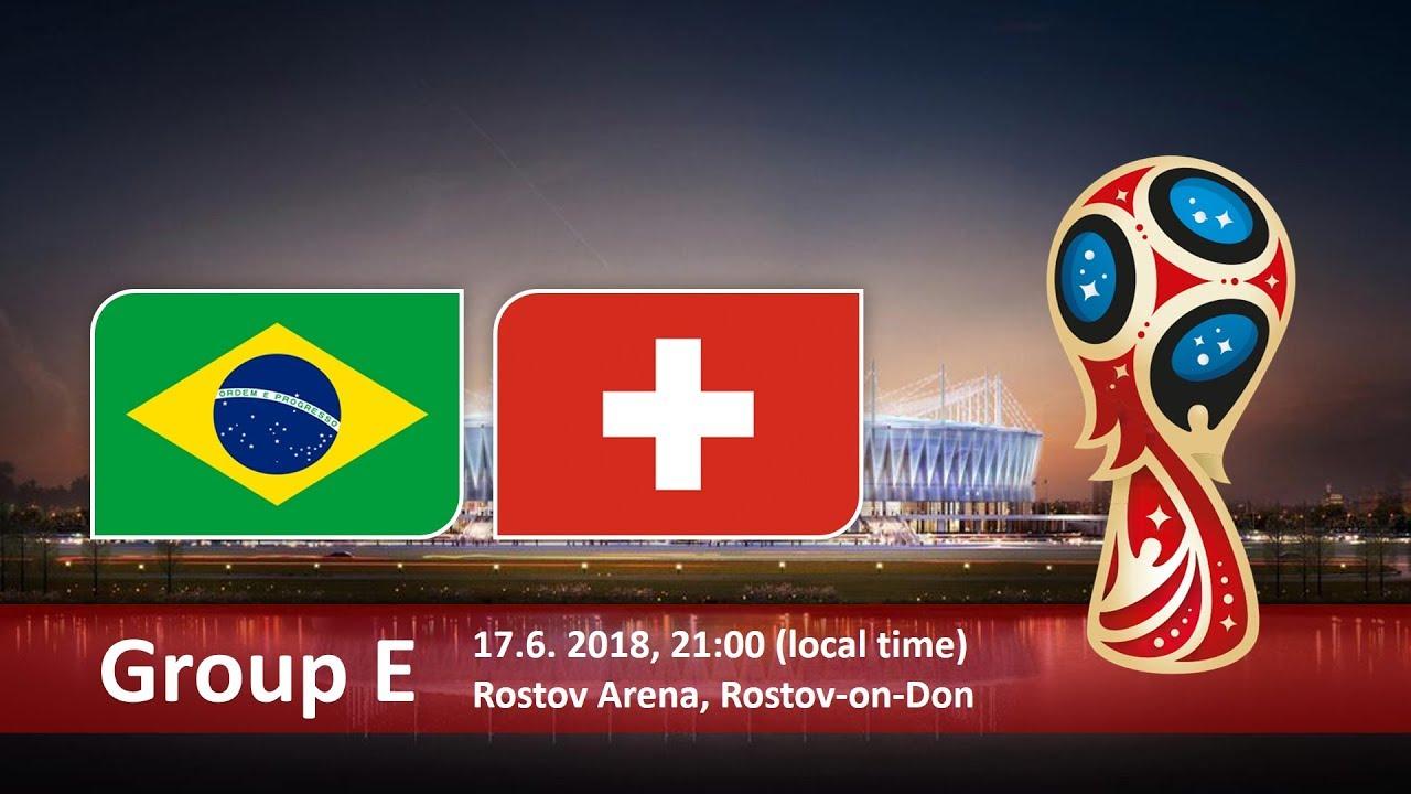 World Cup 2018, Brazil vs Switzerland