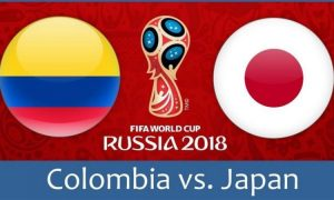 World Cup 2018, Colombia vs Japan