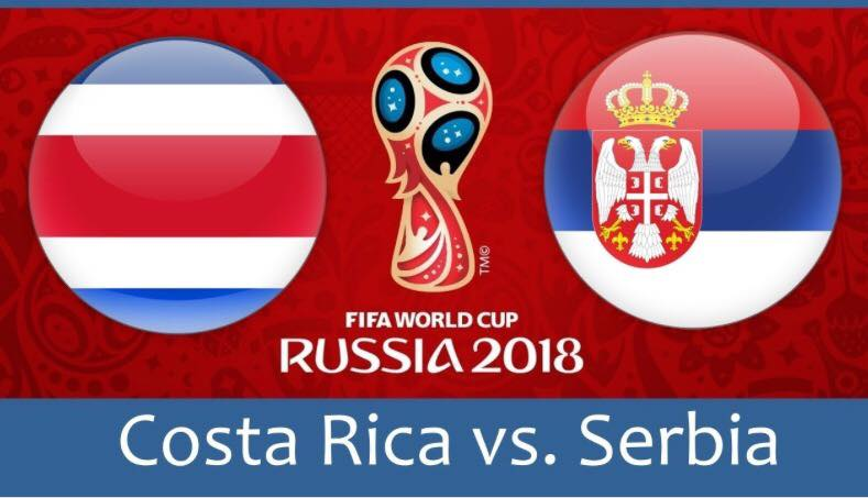 World Cup 2018, Costa Rica vs Serbia