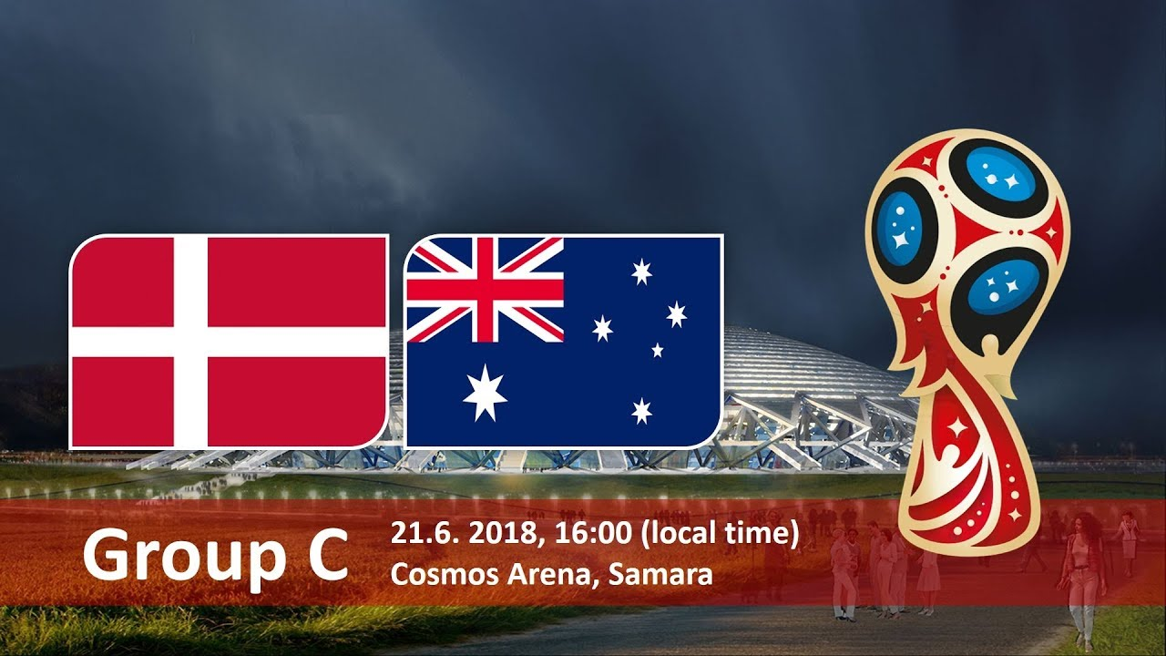 World Cup 2018, Denmark vs Australia