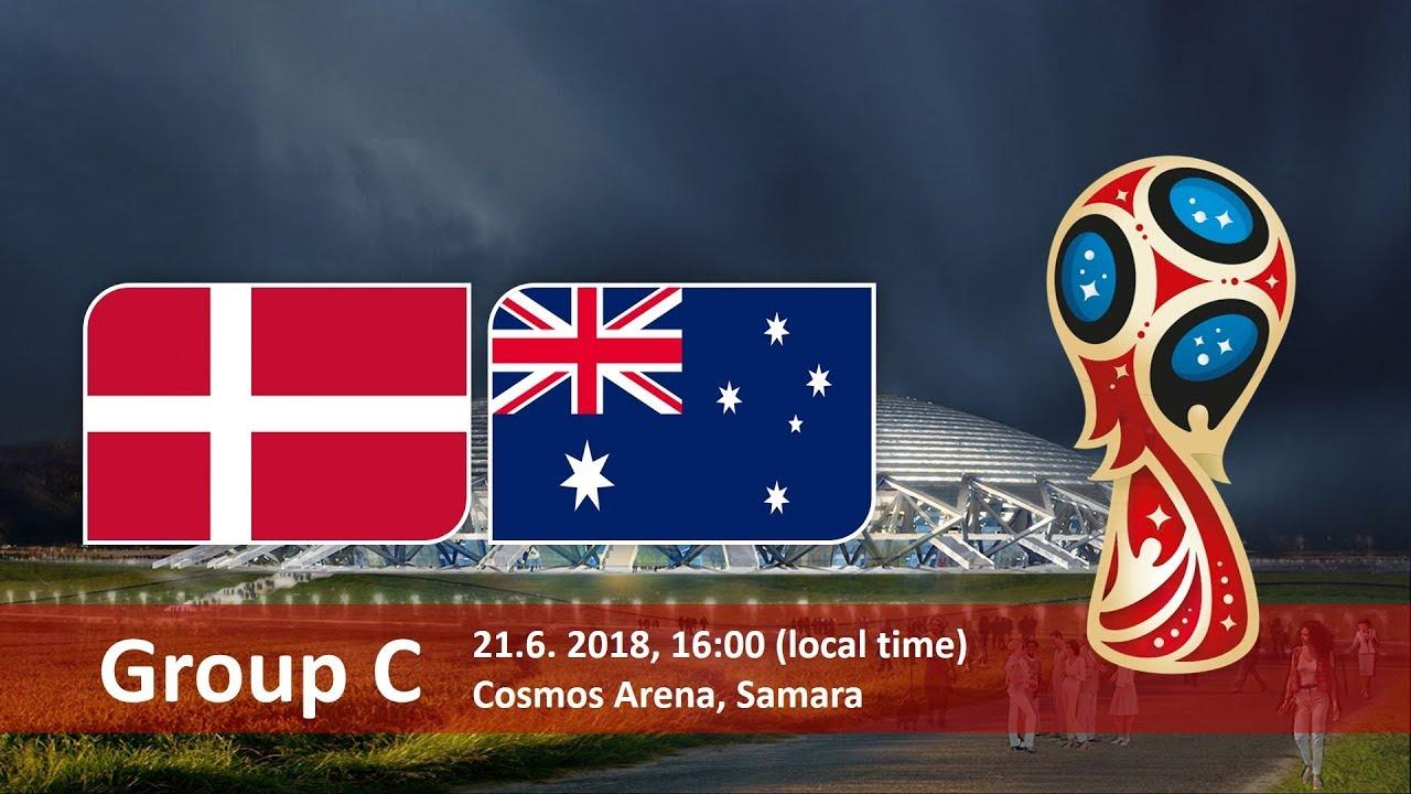 World Cup 2018, Denmark vs Australia