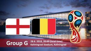 World Cup 2018, England vs Belgium