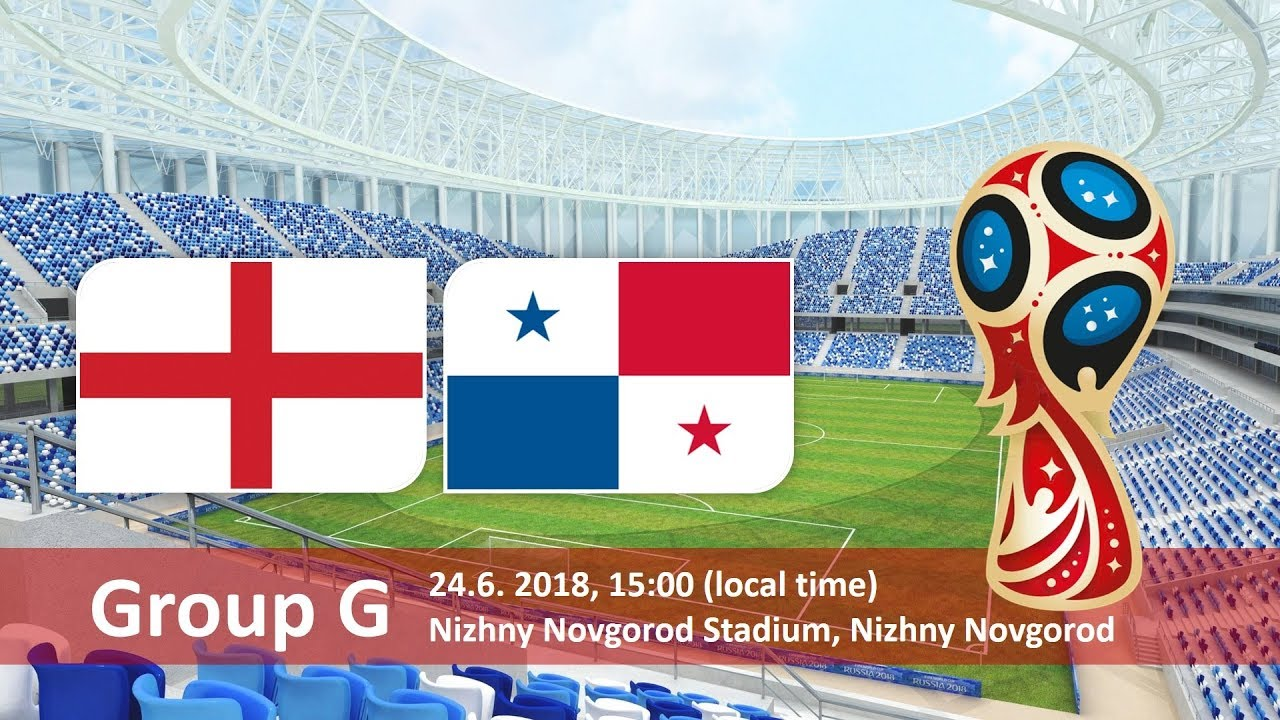 World Cup 2018, England vs Panama