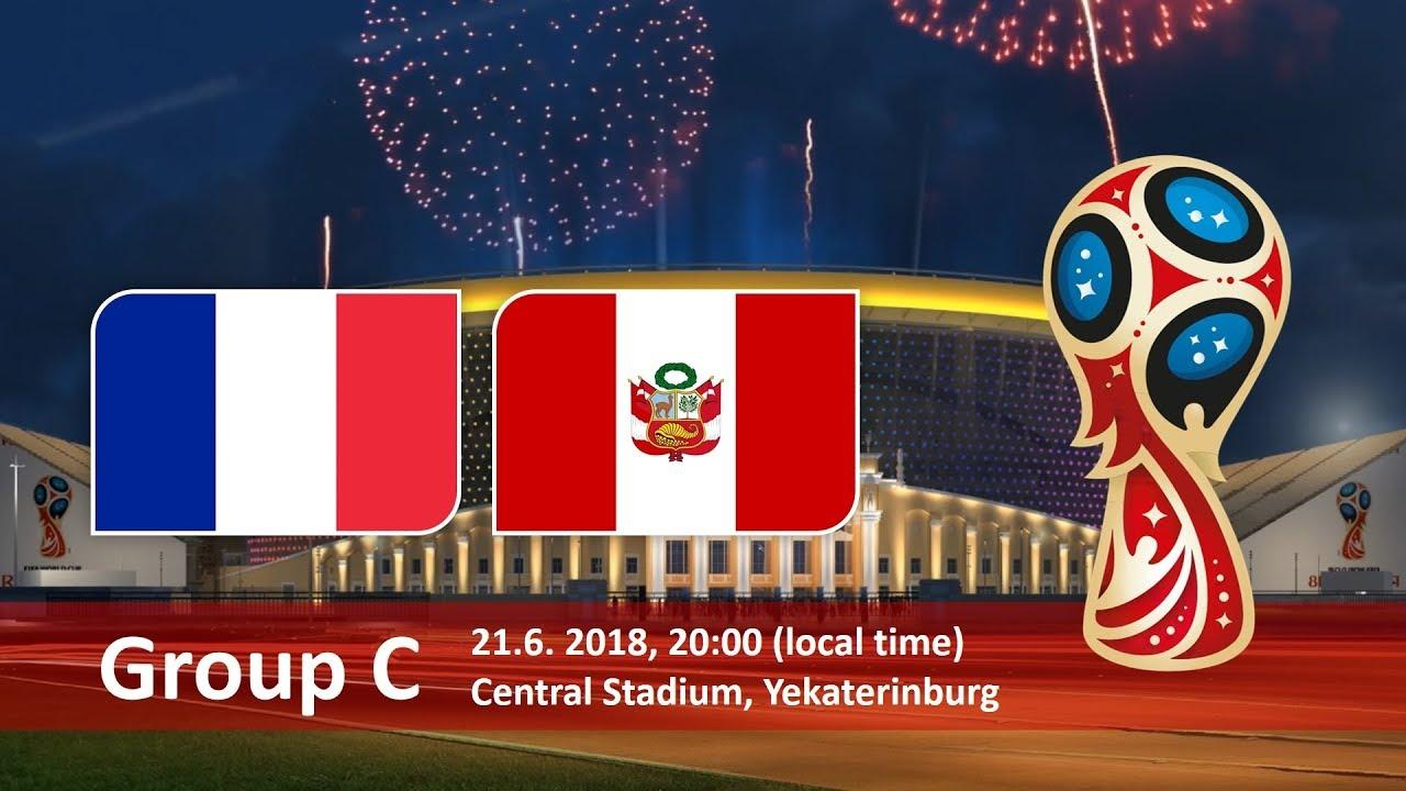 World Cup 2018, France vs Peru