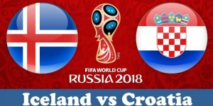 World Cup 2018, Iceland vs Crotia