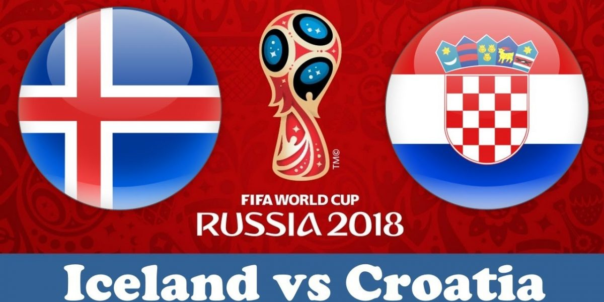 World Cup 2018, Iceland vs Crotia