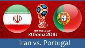 World Cup 2018, Iran vs Portugal