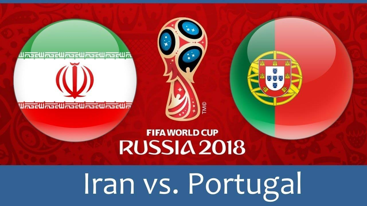 World Cup 2018, Iran vs Portugal