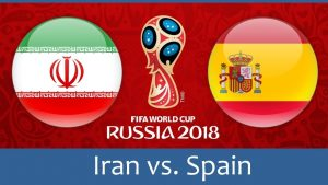World Cup 2018, Iran vs Spain