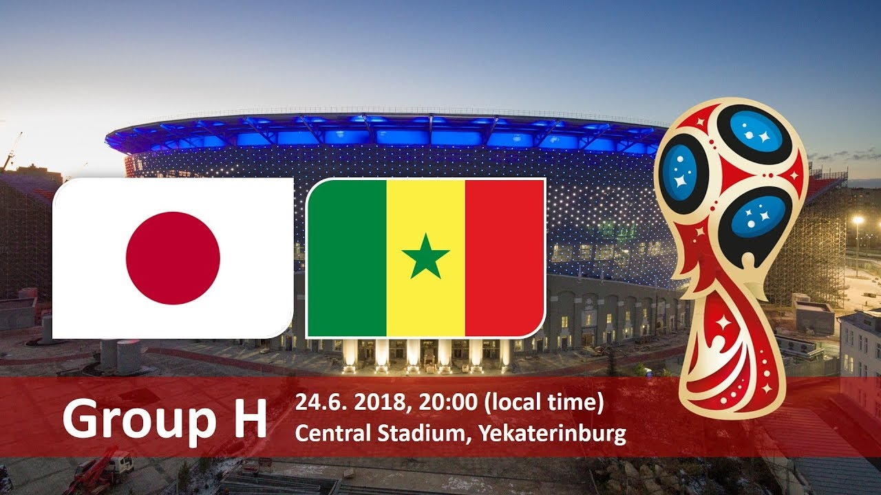 World Cup 2018, Japan vs Senegal