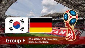 World Cup 2018, Korea Republic vs Germany