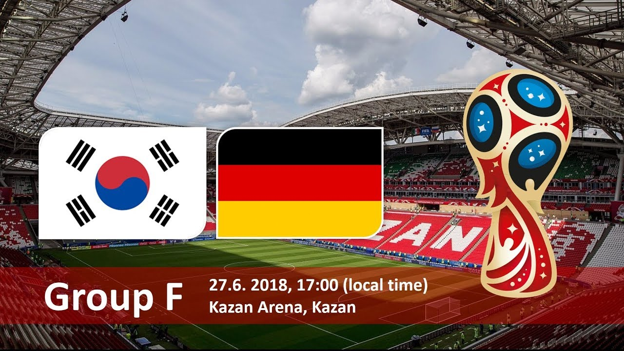 World Cup 2018, Korea Republic vs Germany