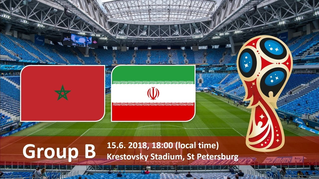 World Cup 2018, Morocco vs Iran