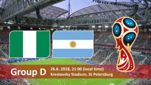 World Cup 2018, Nigeria vs Argentina