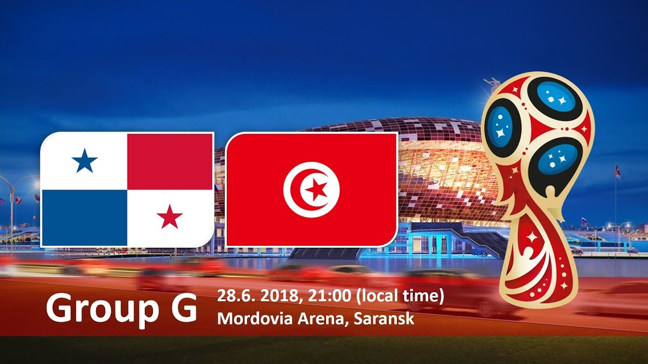 World Cup 2018, Panama vs Tunusia