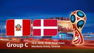 World Cup 2018, Peru vs Denmark