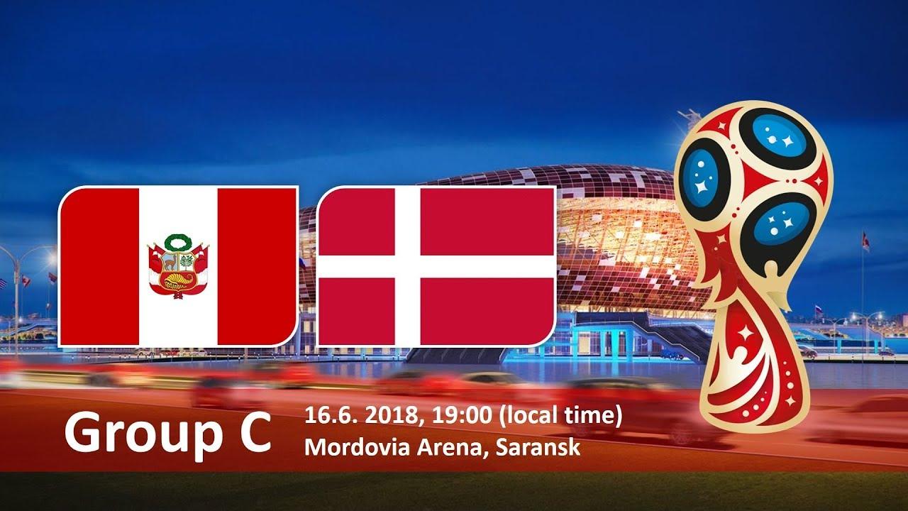 World Cup 2018, Peru vs Denmark