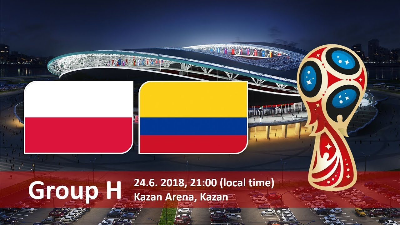 World Cup 2018, Poland vs Colombia