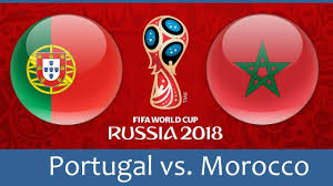 World Cup 2018, Portugal vs Morocco