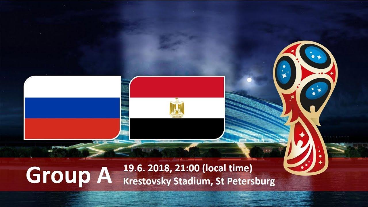 World Cup 2018, Russia vs Egypt
