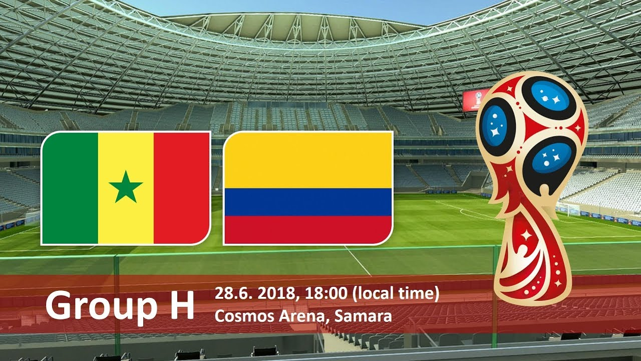 World Cup 2018, Senegal vs Colombia