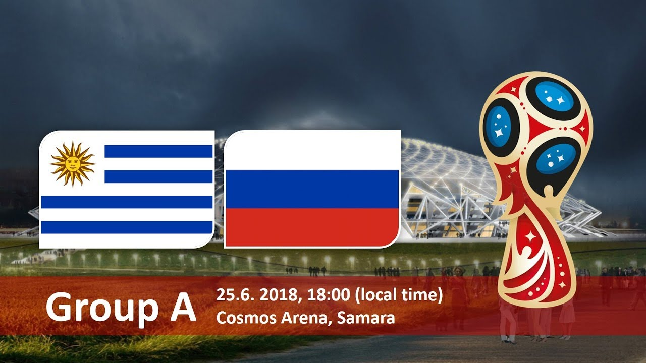 World Cup 2018, Uruguay vs Russia
