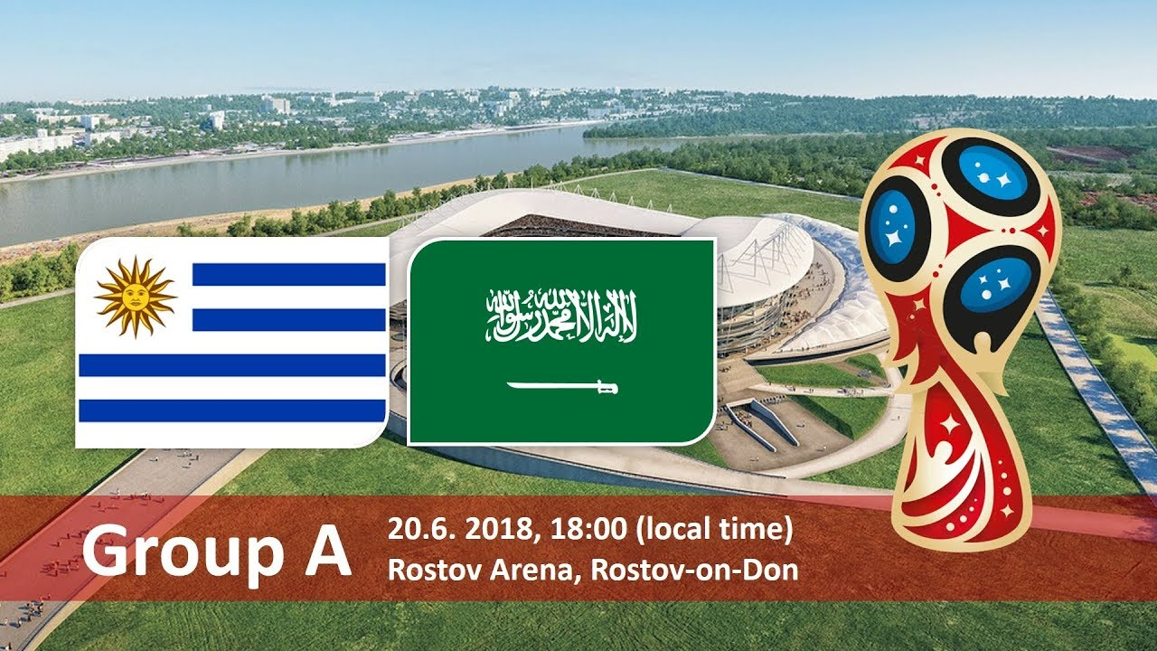 World Cup 2018, Uruguay vs Saudi Arabia