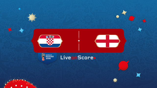 World Cup 2018, Croatia vs England